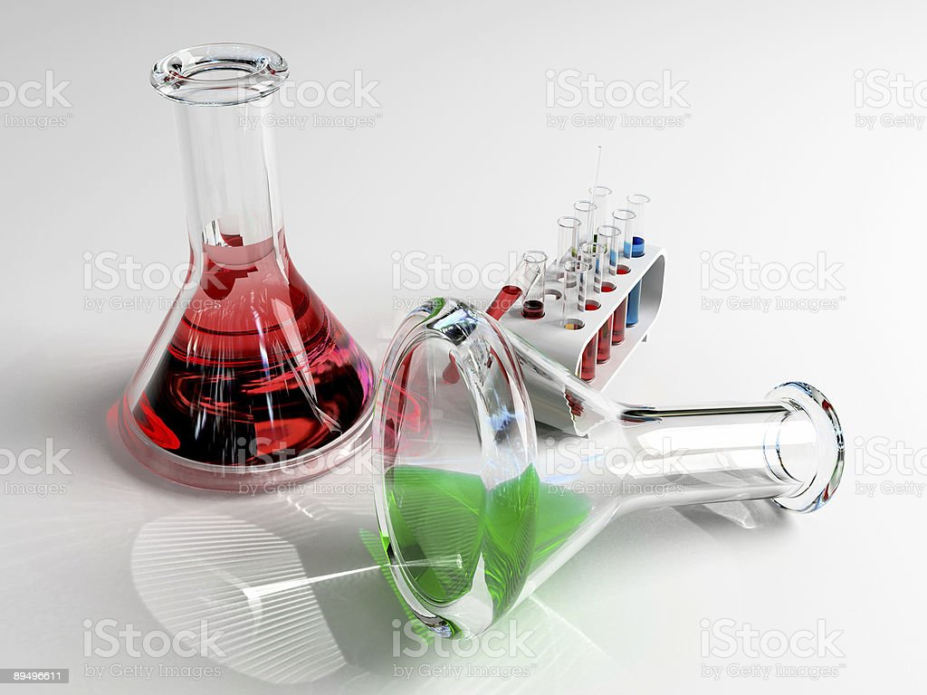 the laboratory tust tubes royalty-free stock photo