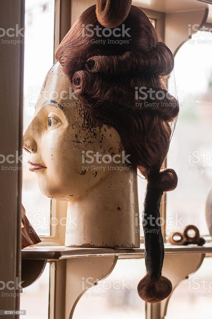 The Ladies Maid stock photo
