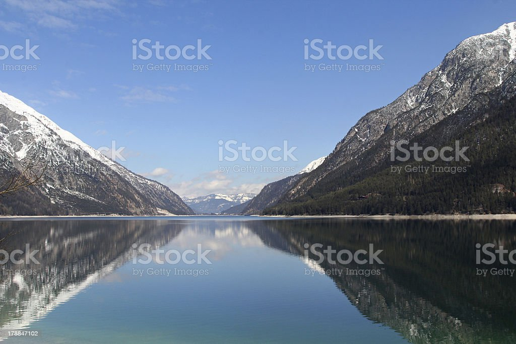 The Lake Achen, Achensee , Austria stock photo