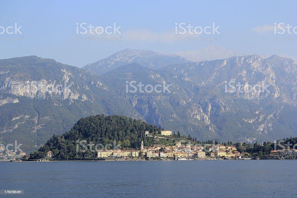 The Lake Como stock photo