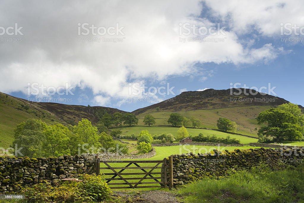 The Lake District, Cumbria, U.K stock photo