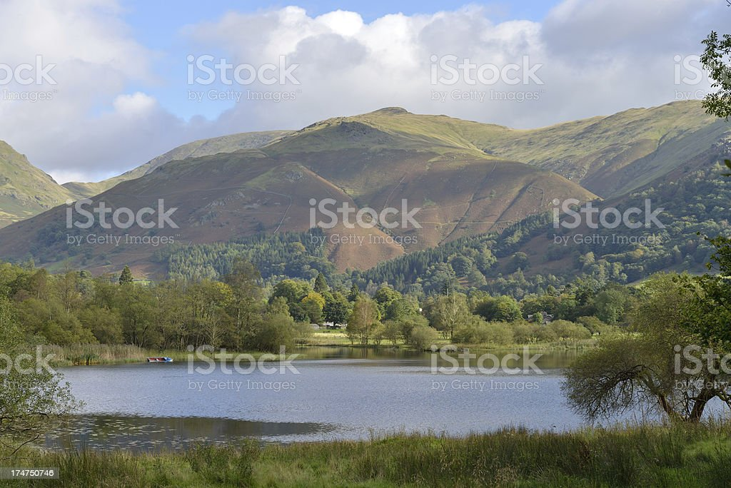 The Lakes. royalty-free stock photo