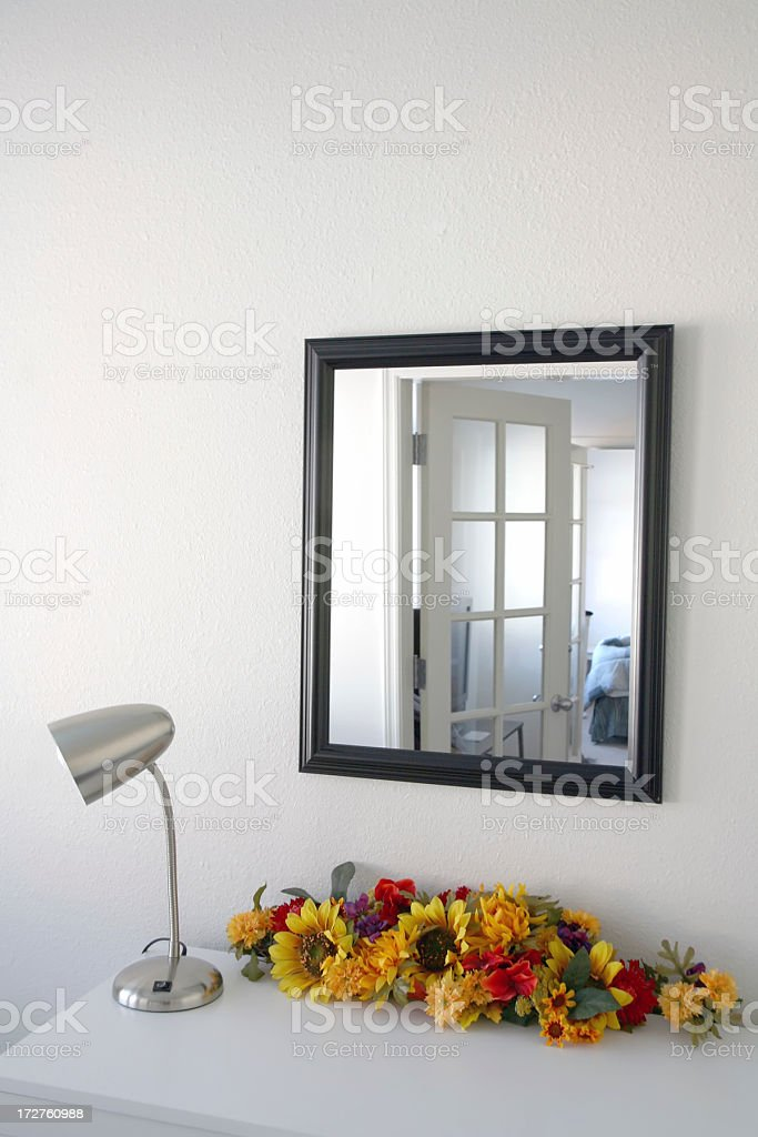 The Lamp And Mirror royalty-free stock photo
