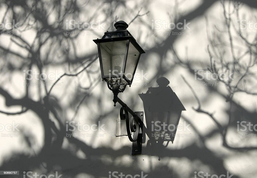 The lamp II royalty-free stock photo