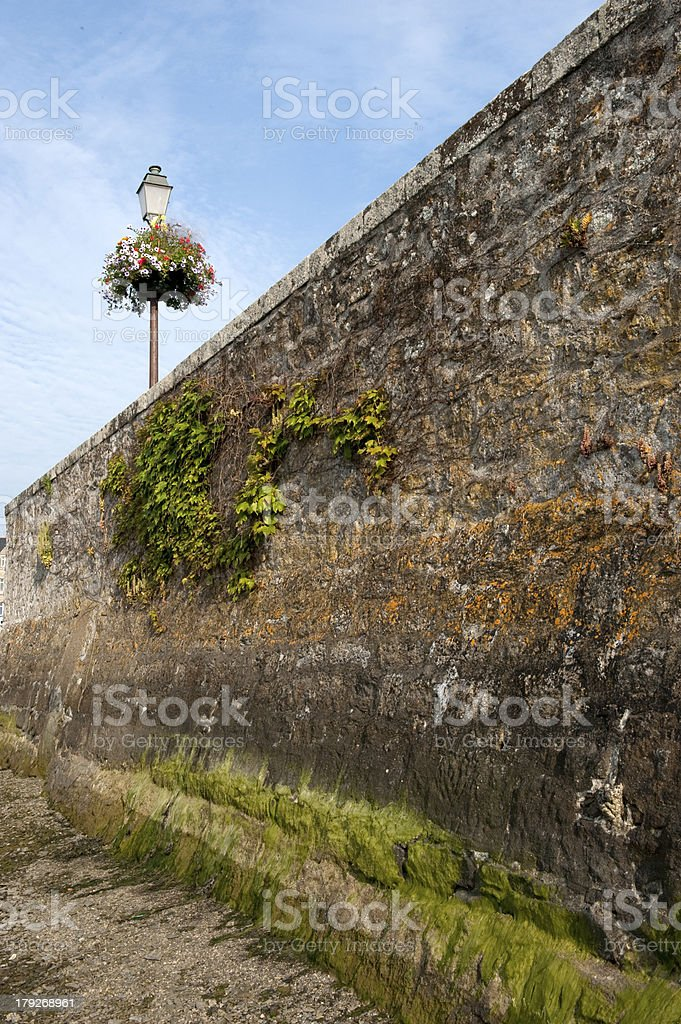The lamppost royalty-free stock photo