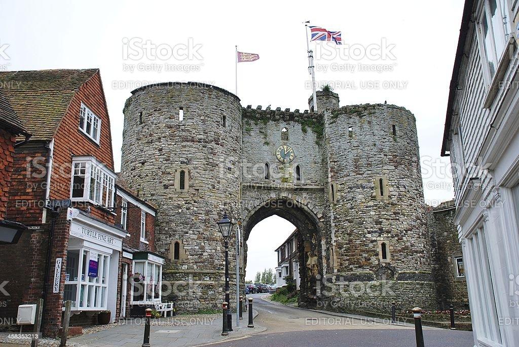 The Landgate, Rye royalty-free stock photo