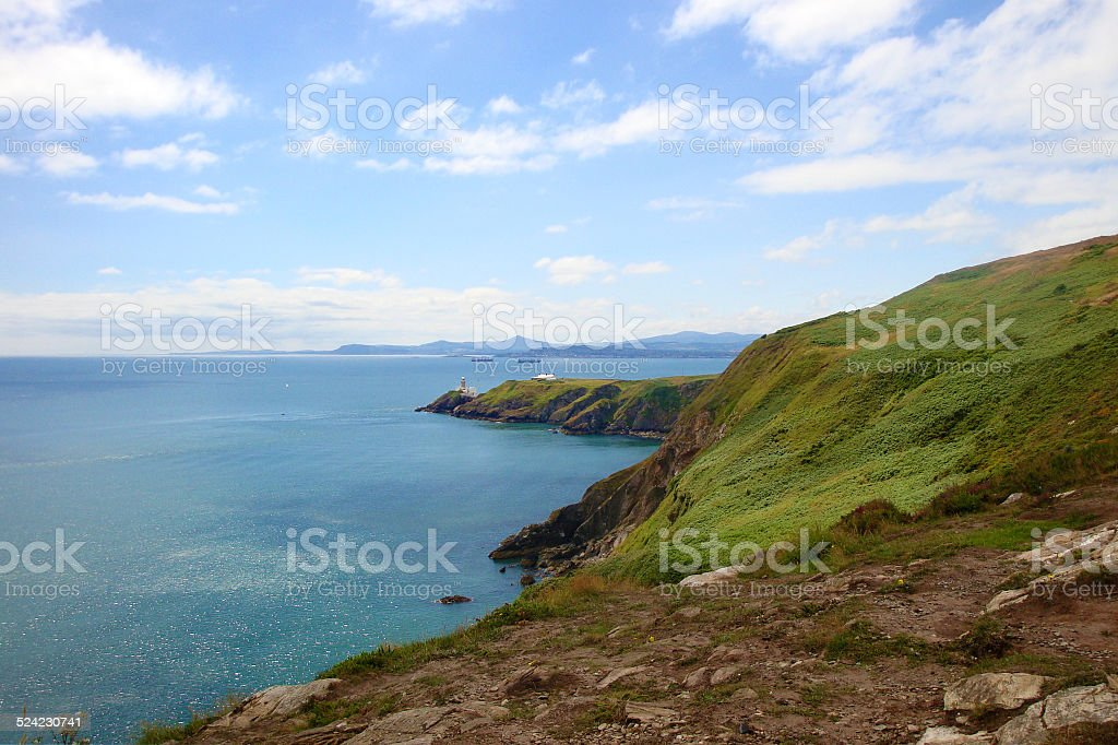 The Landscape of Howth stock photo