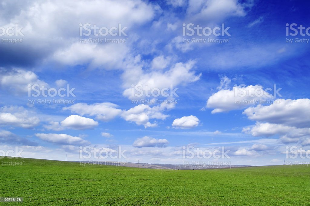 The  landscape. stock photo