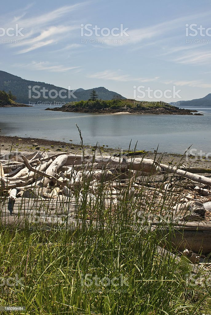 The Bay at Eastsound royalty-free stock photo