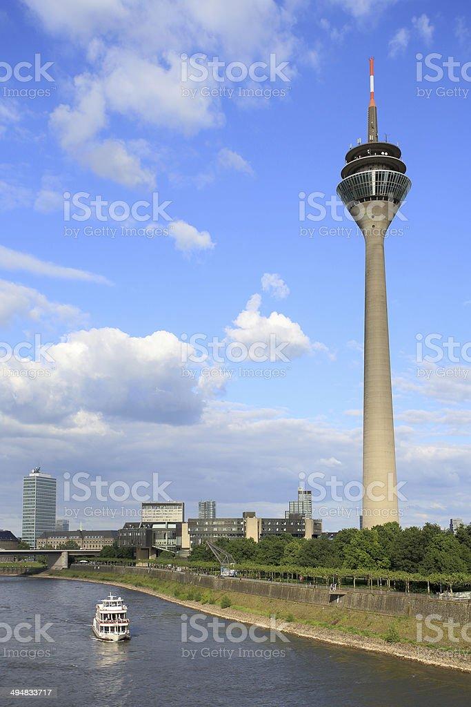 The Landtag of North Rhine-Westphalia stock photo