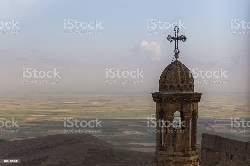 The lanscape of Mardin , Turkey royalty-free stock photo