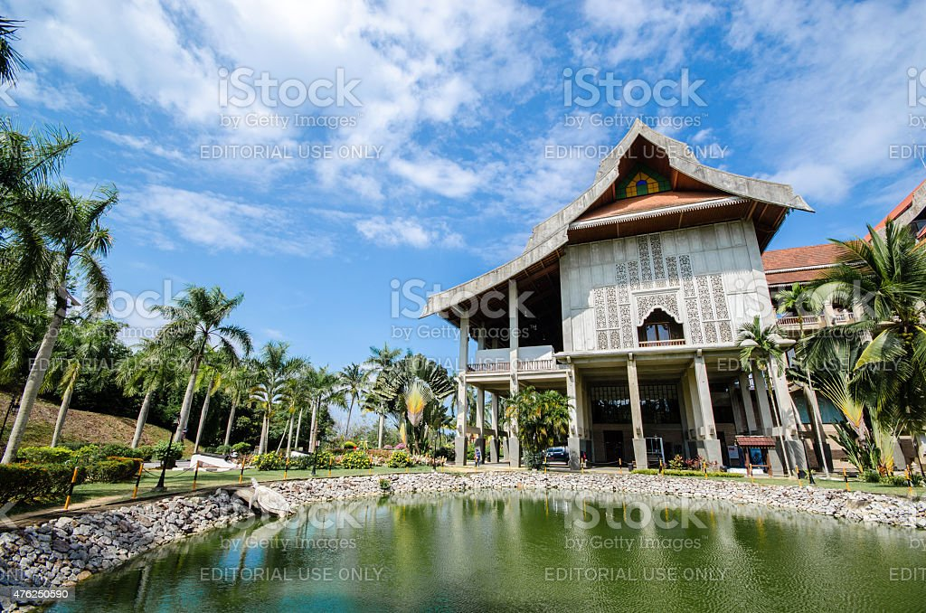 The largest museum in South East Asia stock photo