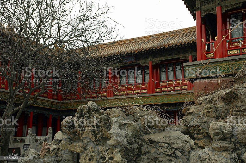 The Last Emperor's School Room stock photo