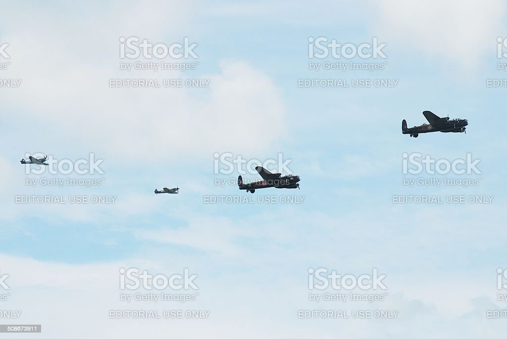 The last of the Lancasters stock photo