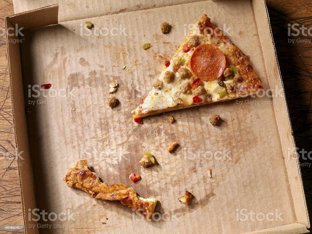 The Last Slice stock photo