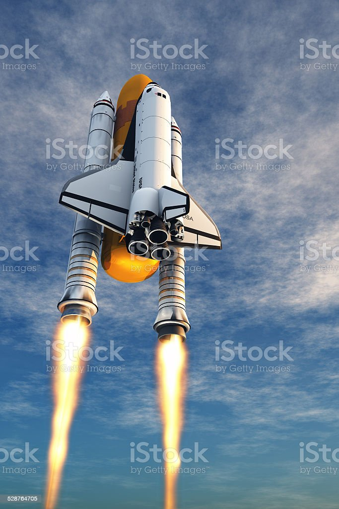 The launch stock photo