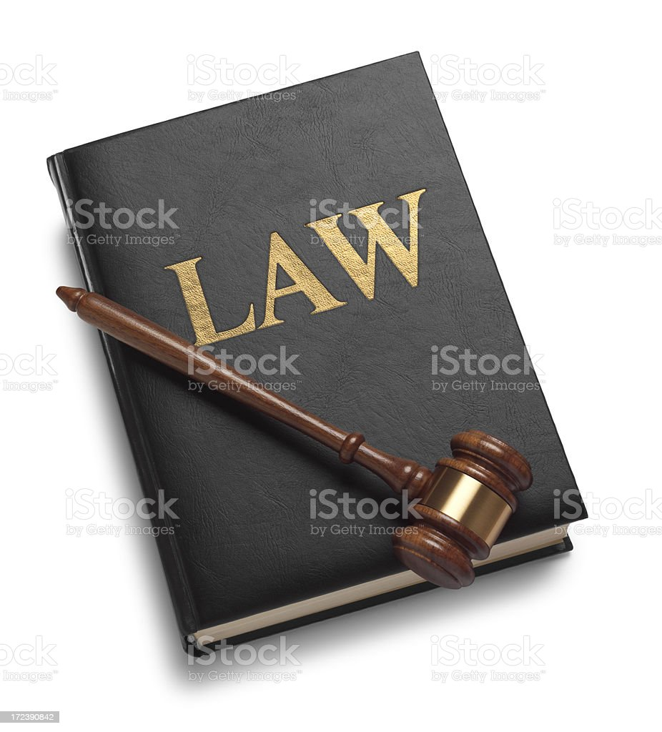 The Law royalty-free stock photo