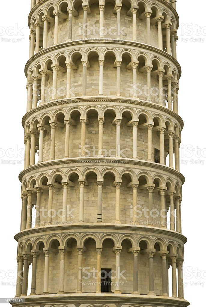 The Leaning Tower, Pisa, Italy, Europe stock photo