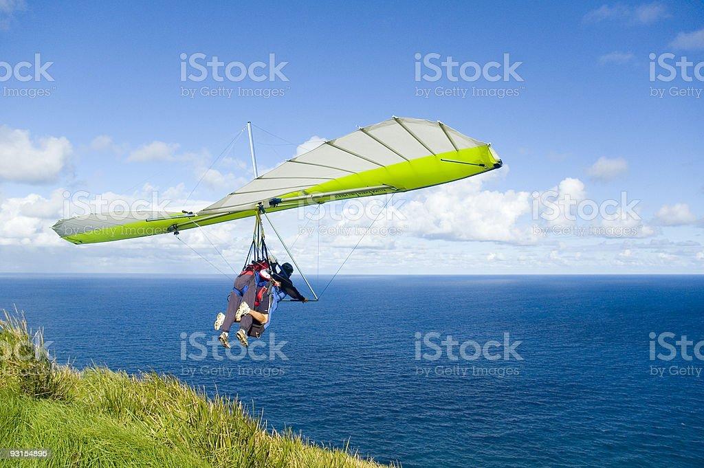 The Leap of Faith stock photo