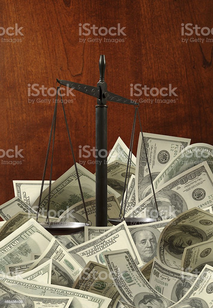 The Legal System stock photo