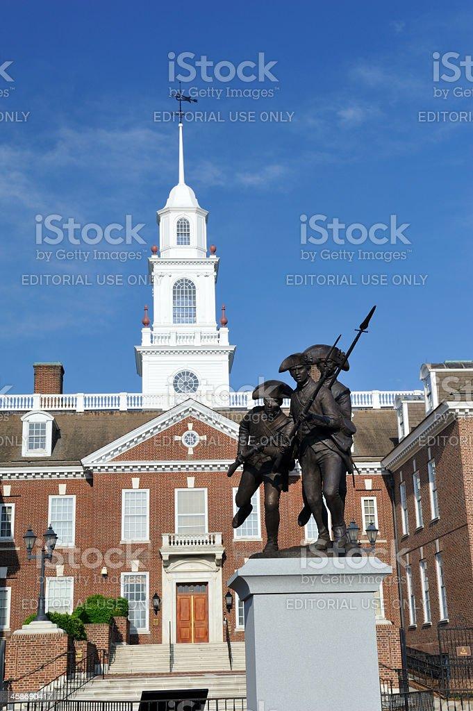 The Legislative Hall of Delaware State stock photo