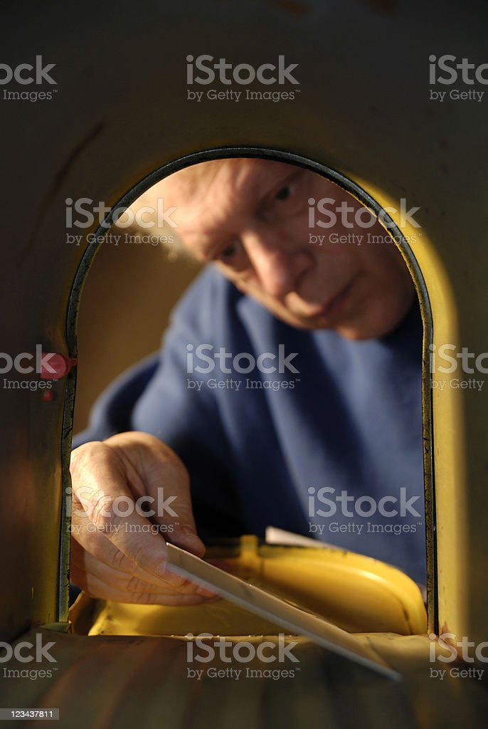 The Letter royalty-free stock photo