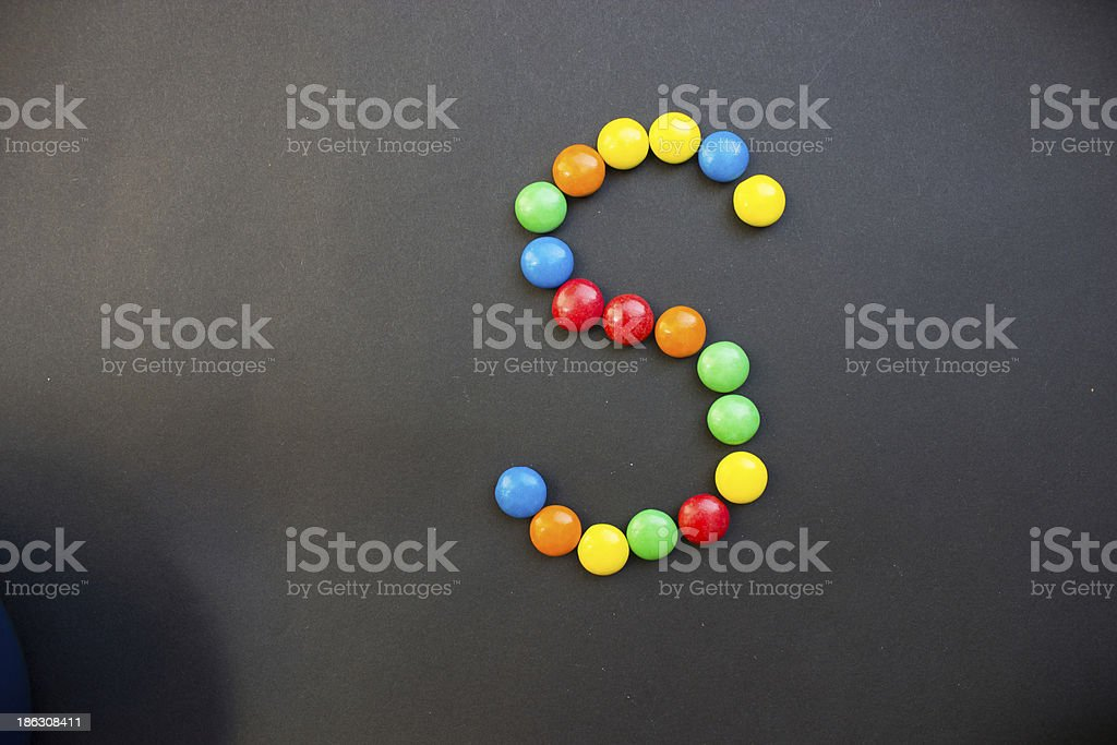 The Letter S royalty-free stock photo