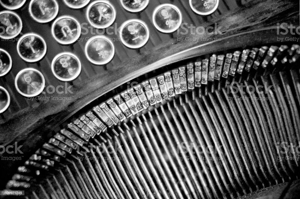 The Letters stock photo