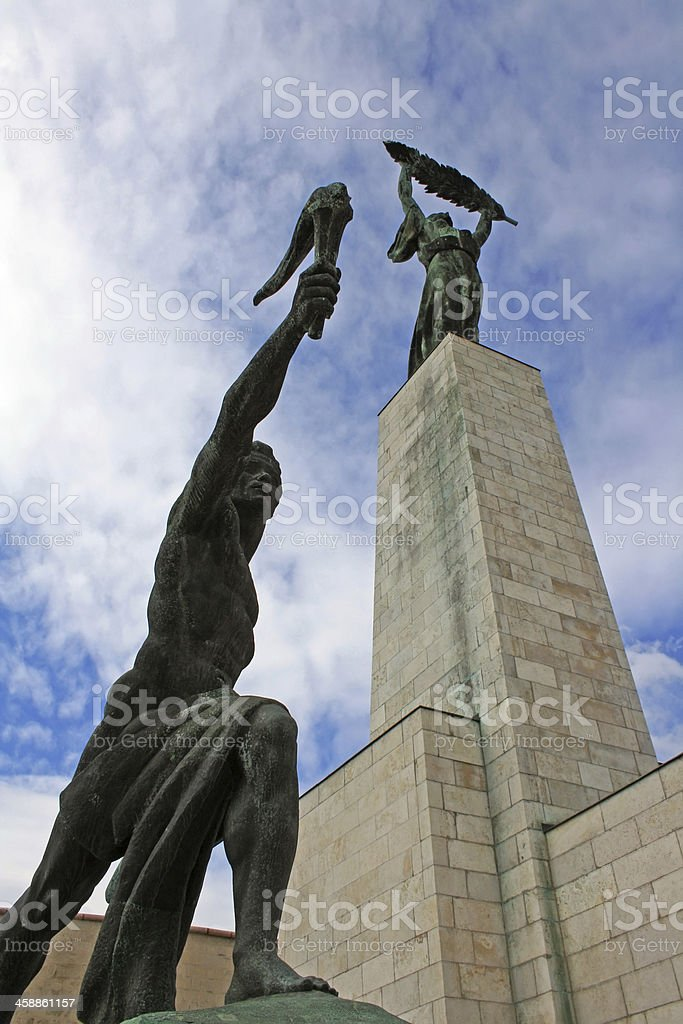 The Liberation Monument stock photo
