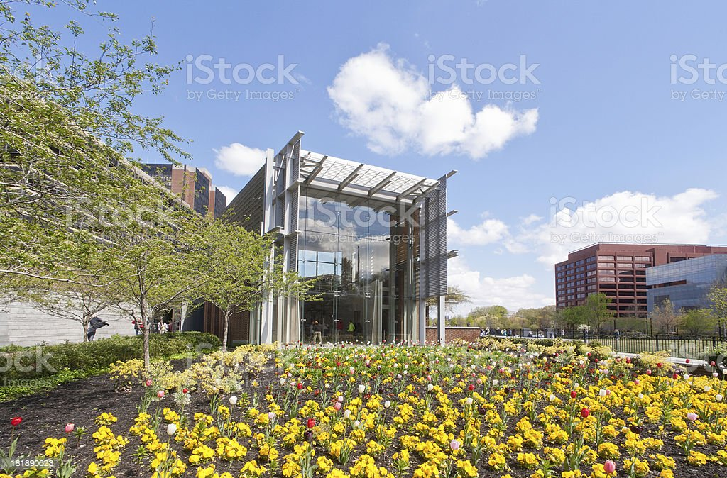 The Liberty Bell Center, Philadelphia, USA stock photo