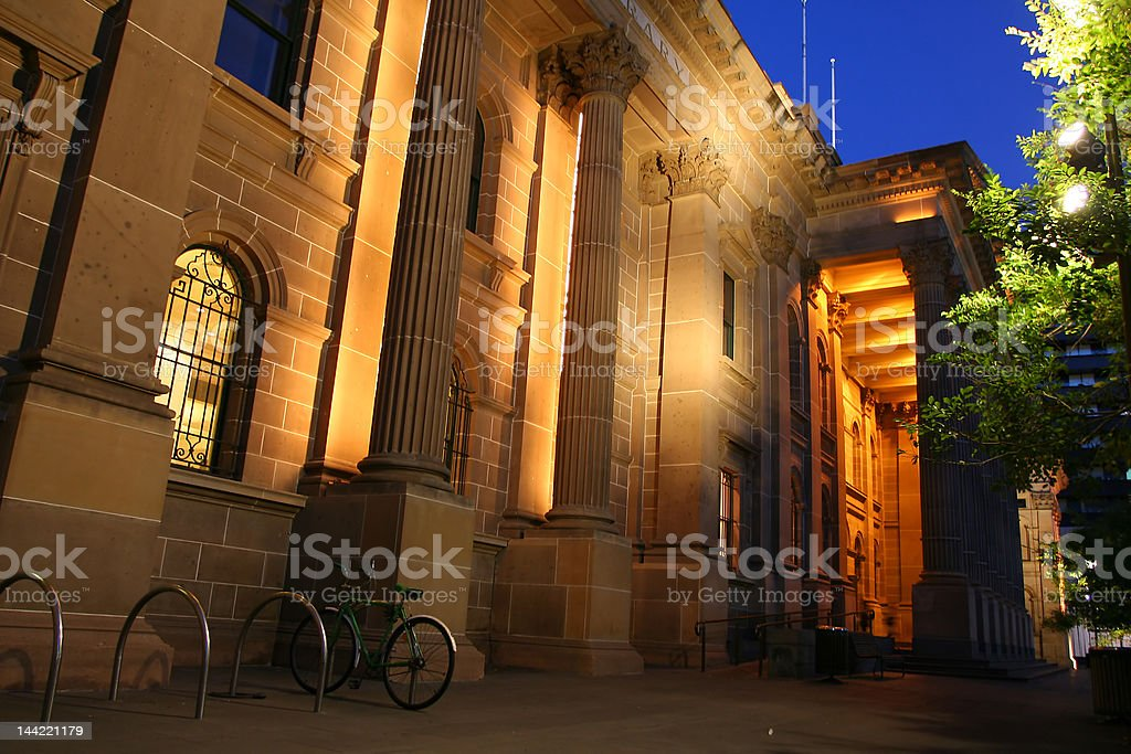 The library stock photo