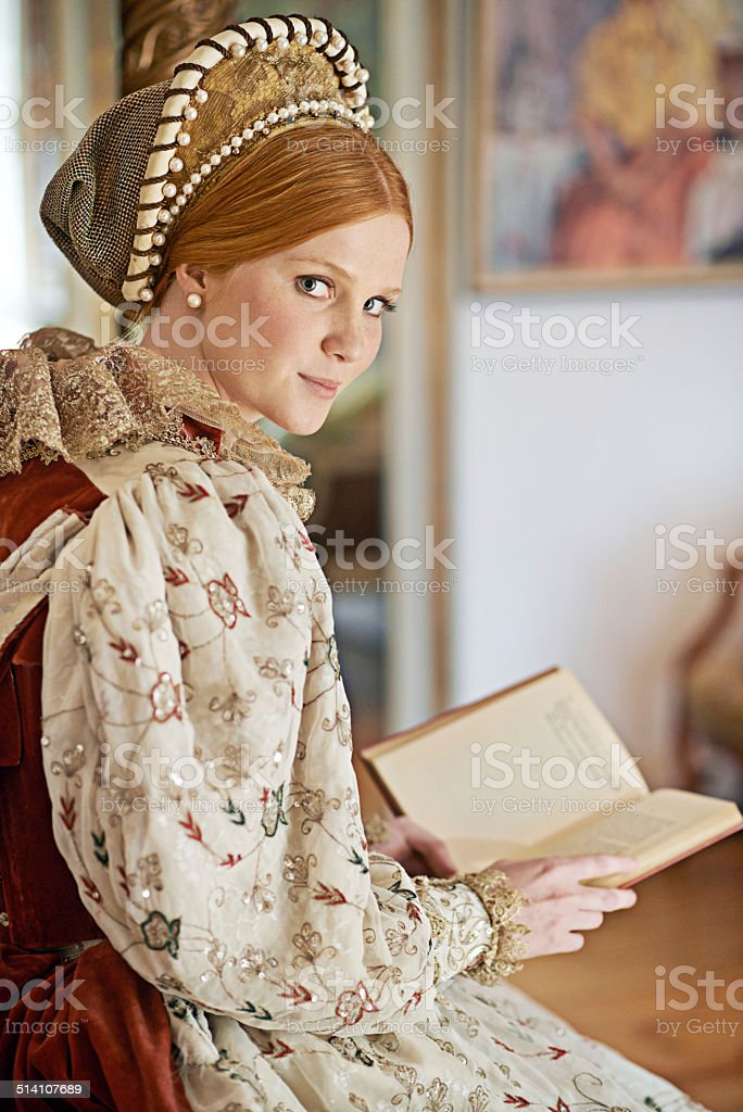 The life of a lady stock photo