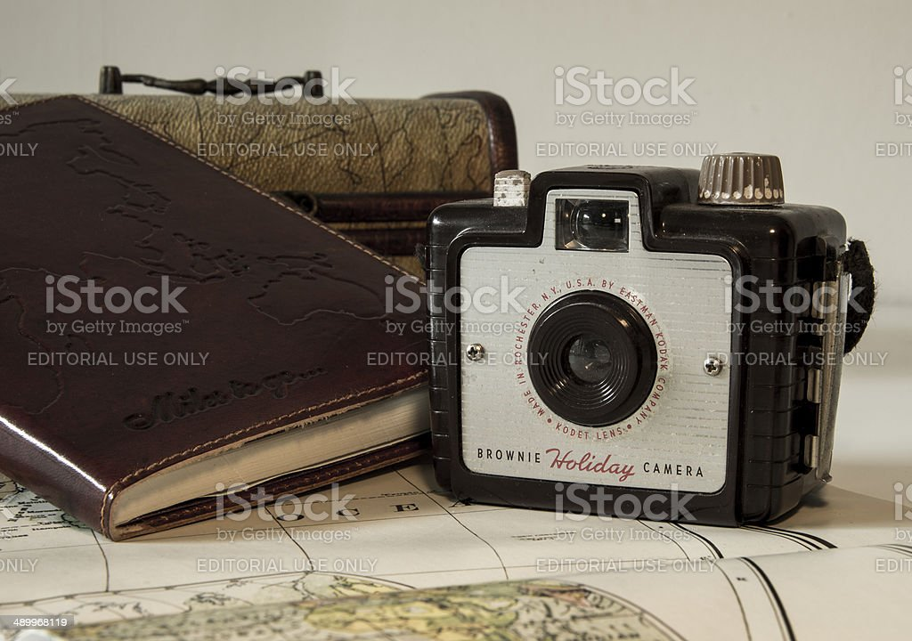 The life of an adventurer, story teller and a traveller stock photo