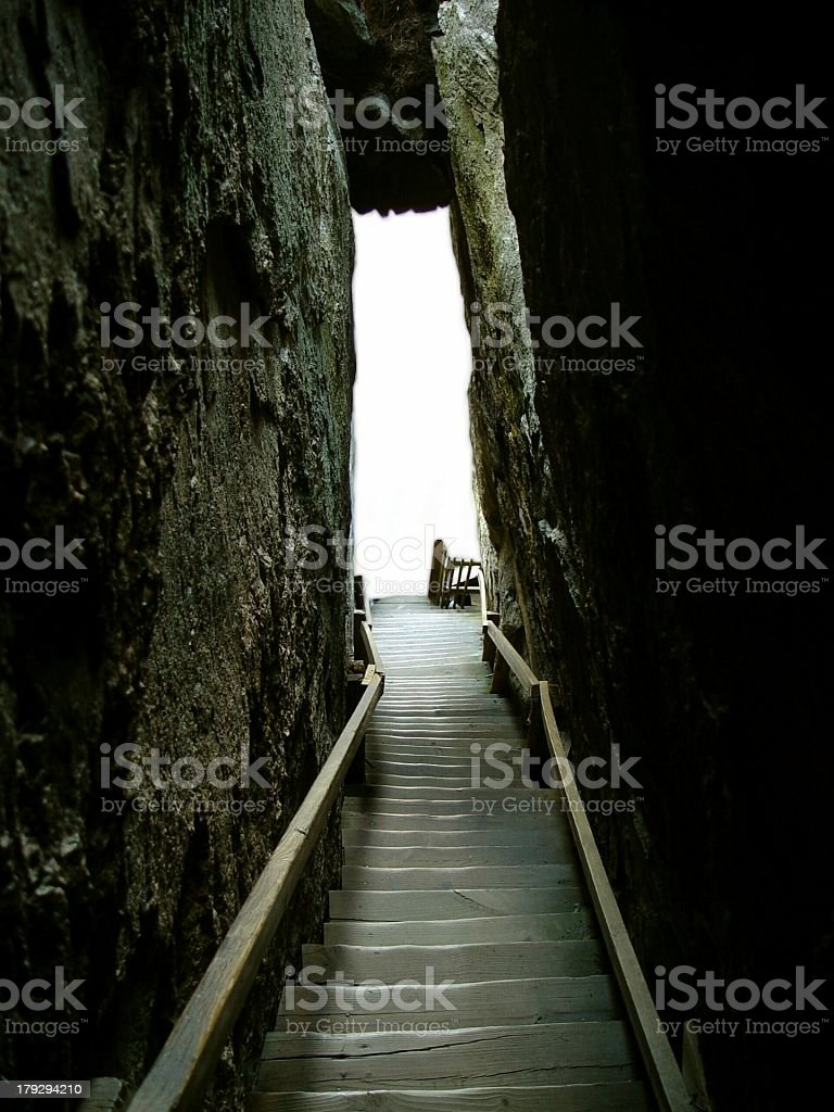 The light at the End of the Tunnel royalty-free stock photo