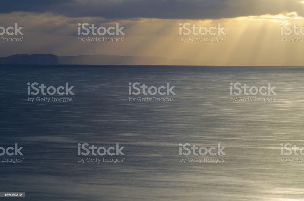 The Light Beams stock photo
