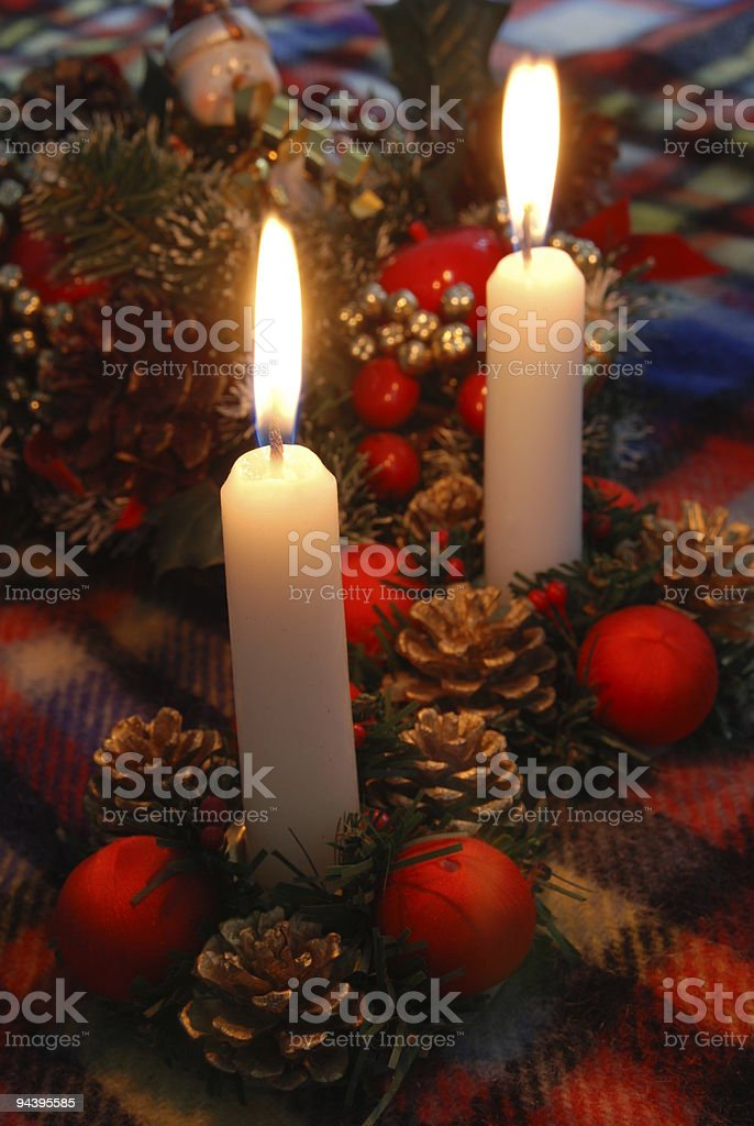 the light of Christmas royalty-free stock photo