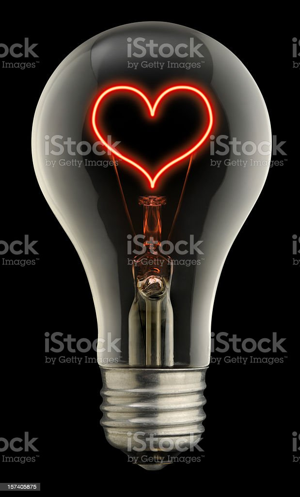 The Light of Love royalty-free stock photo