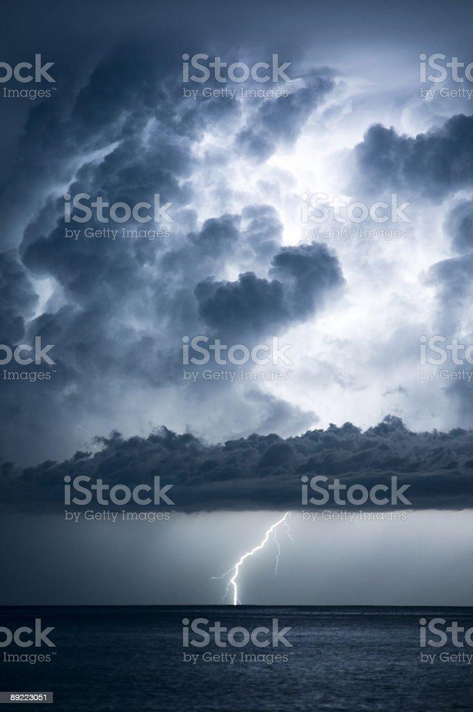 The Lightning Bolt Series stock photo