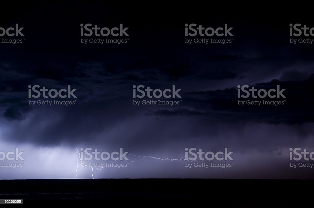 The Lightning Bolt Series royalty-free stock photo