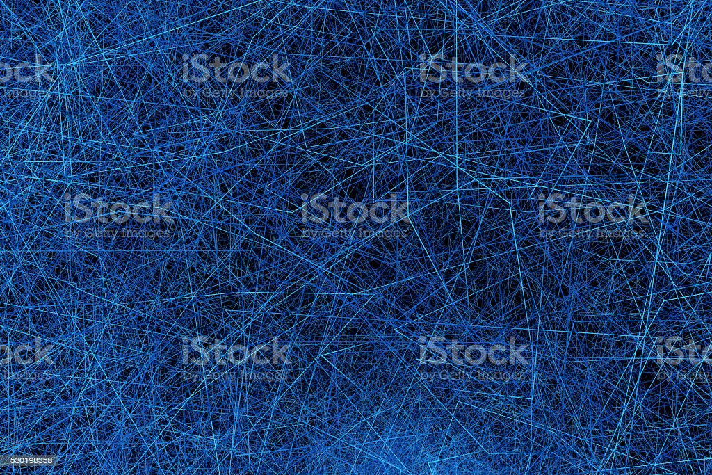 The line of clutter stock photo