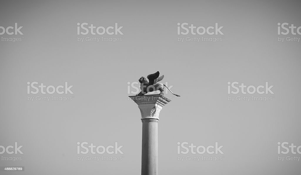 The Lion of San Marco royalty-free stock photo
