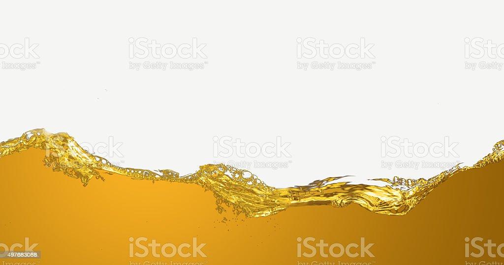 The liquid oil pattern. stock photo