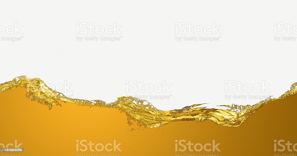 The liquid oil pattern. stock photo