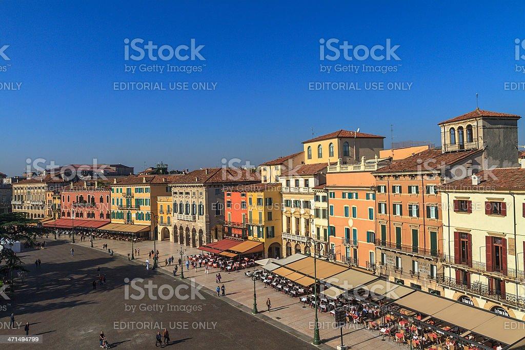 The Liston, Verona, Italy stock photo