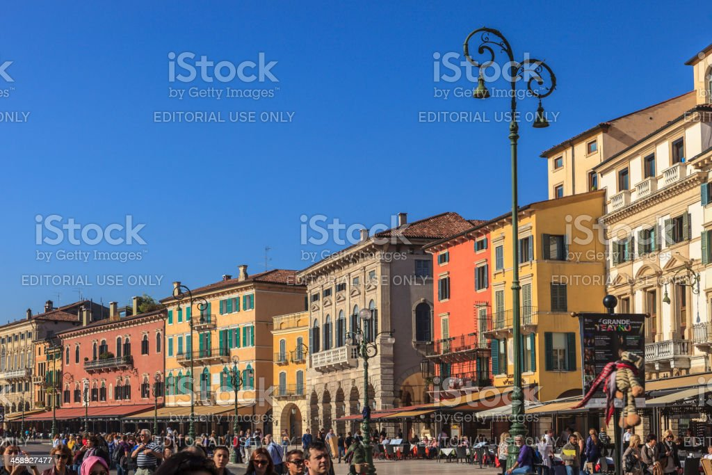 The Liston, Verona stock photo