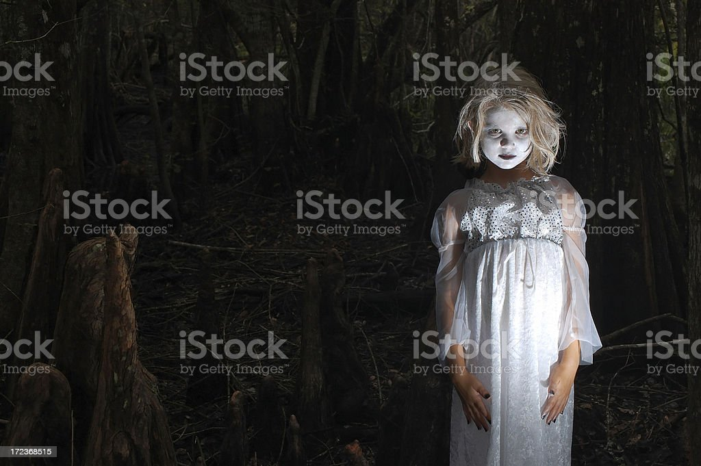 The Littlest Ghoul - 1 stock photo