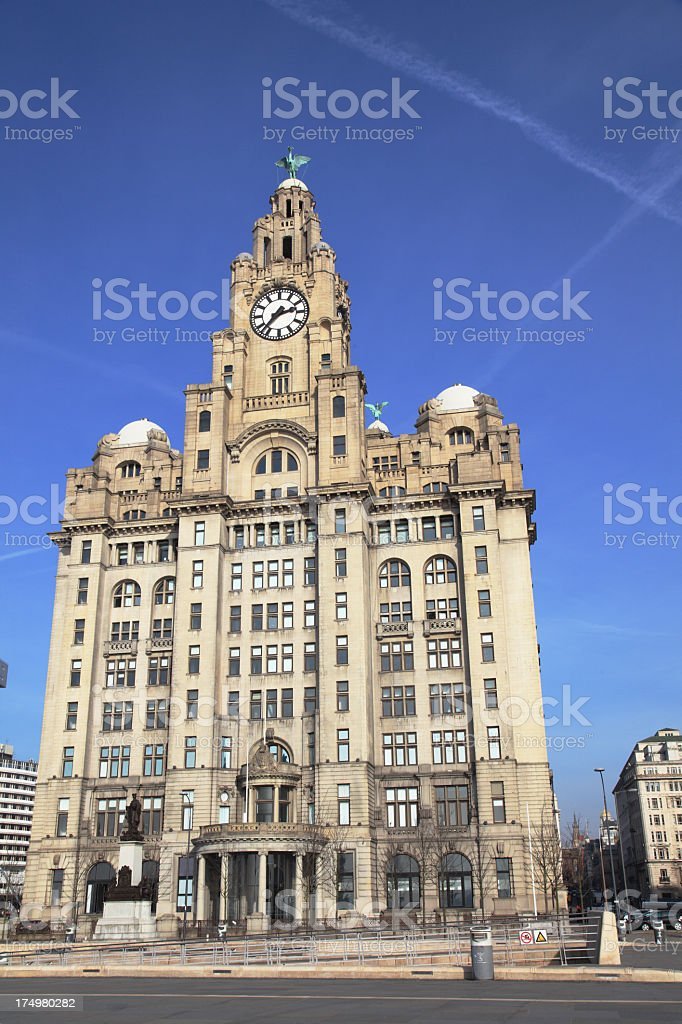 The Liver Building royalty-free stock photo