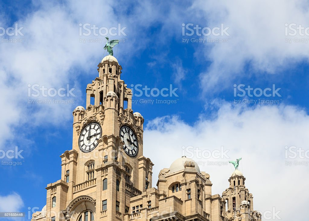 The Liver Building stock photo