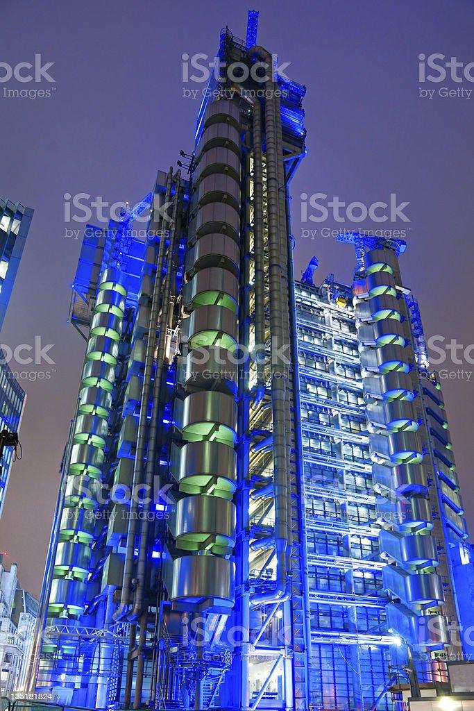 The Lloyd's Building, london, UK. stock photo