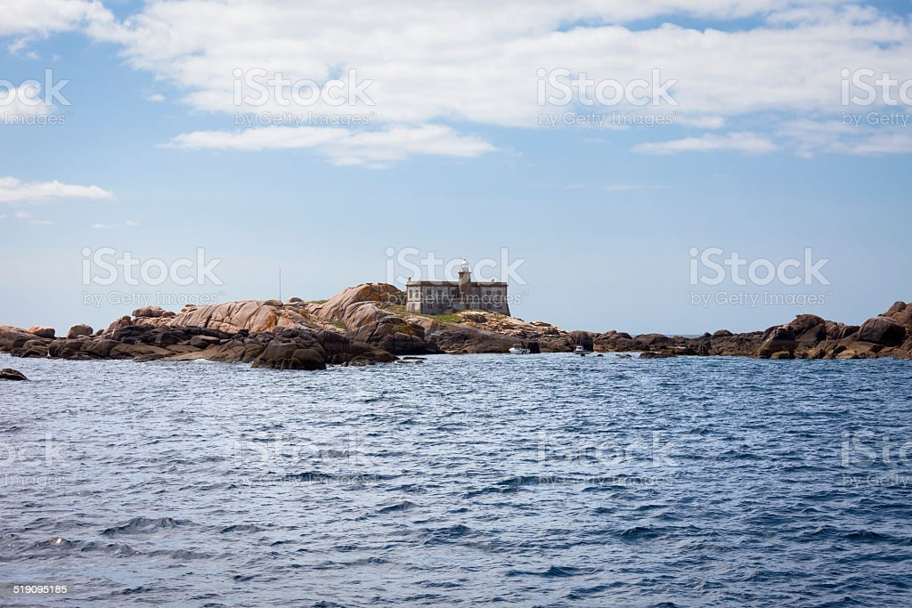 The Lobeiras Islands stock photo